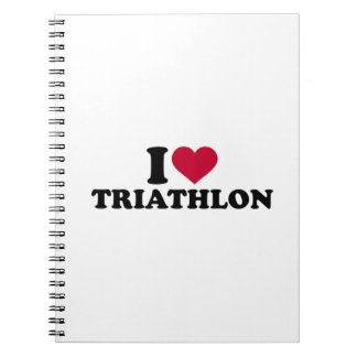 I love triathlon note books