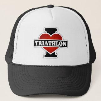 I Love Triathlon Trucker Hat