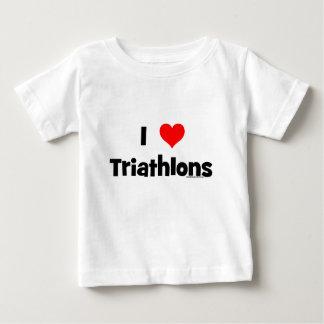I Love Triathlons T-shirts