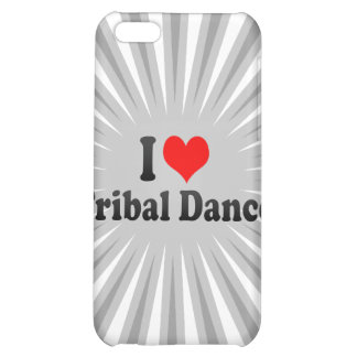 I love Tribal Dance Cover For iPhone 5C