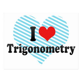 I Love Trigonometry Postcards