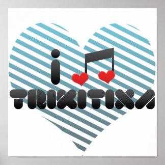 I Love Trikitixa Print
