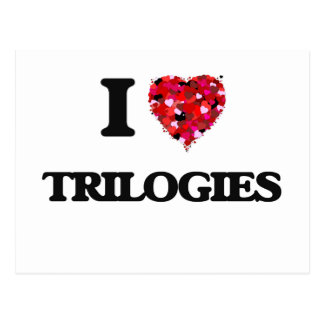 I love Trilogies Postcard