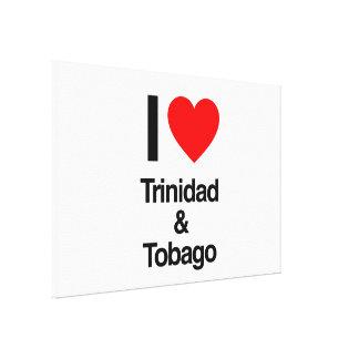 i love trinidad and tobago canvas print