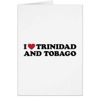 I Love Trinidad and Tobago Card