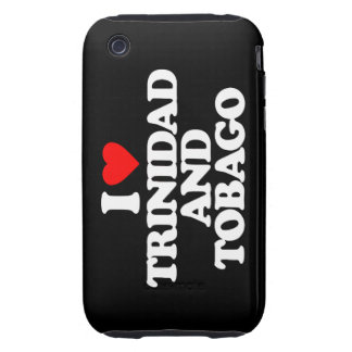 I LOVE TRINIDAD AND TOBAGO TOUGH iPhone 3 COVERS