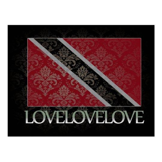 I love Trinidad And Tobago Cool Postcard