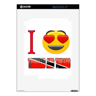 I love TRINIDAD AND TOBAGO. Decals For The iPad 2
