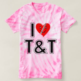 I Love Trinidad and Tobago Heart Shirt