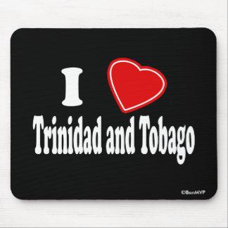 I Love Trinidad and Tobago Mouse Pad