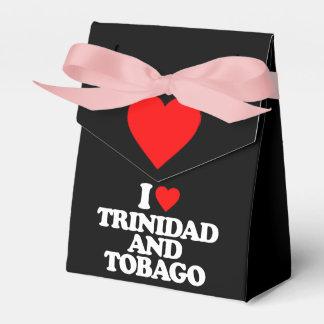 I LOVE TRINIDAD AND TOBAGO PARTY FAVOR BOXES