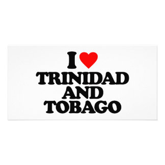 I LOVE TRINIDAD AND TOBAGO PICTURE CARD