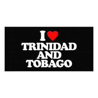I LOVE TRINIDAD AND TOBAGO PHOTO CARD TEMPLATE