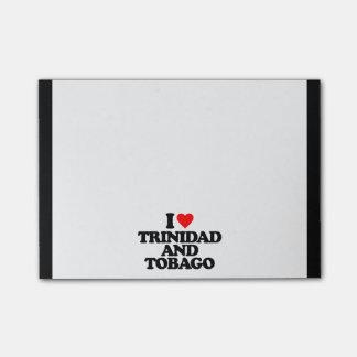 I LOVE TRINIDAD AND TOBAGO POST-IT® NOTES