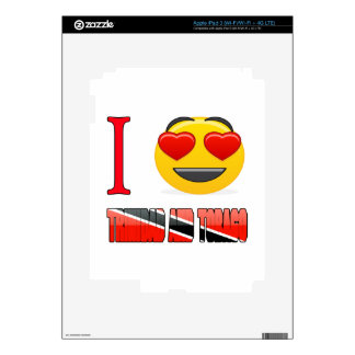 I love TRINIDAD AND TOBAGO. Skins For iPad 3