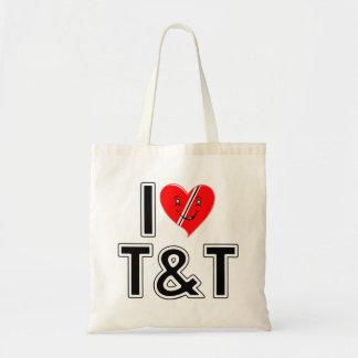 I Love Trinidad and Tobago Tote Bag