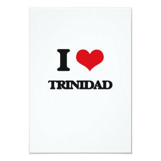 I Love Trinidad 3.5x5 Paper Invitation Card