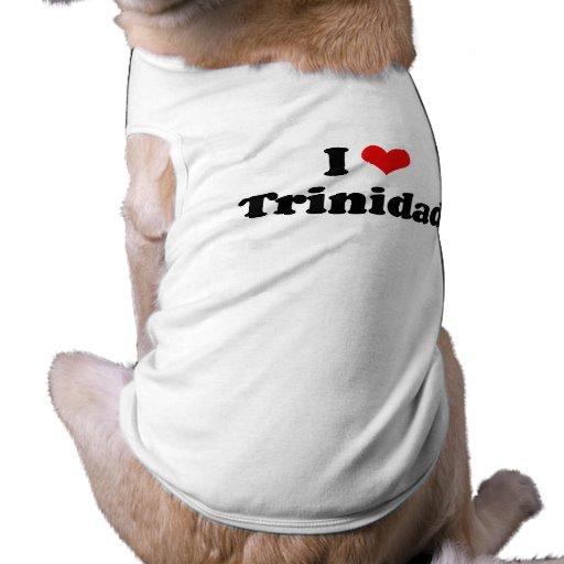 I LOVE TRINIDAD PET TSHIRT