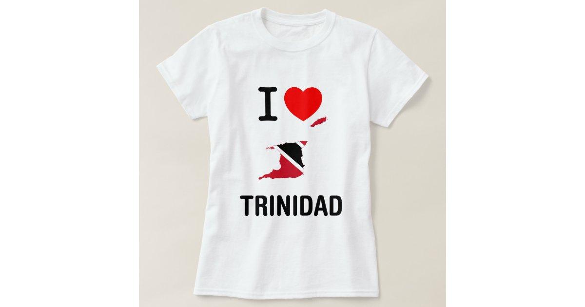 i love trinidad tobago t shirt zazzle