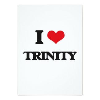 I Love Trinity 5x7 Paper Invitation Card