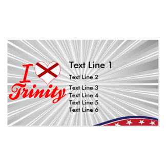 I Love Trinity, Alabama Double-Sided Standard Business Cards (Pack Of 100)