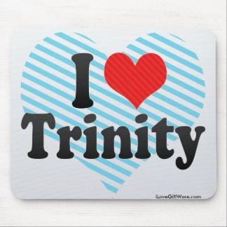 I Love Trinity Mouse Pad