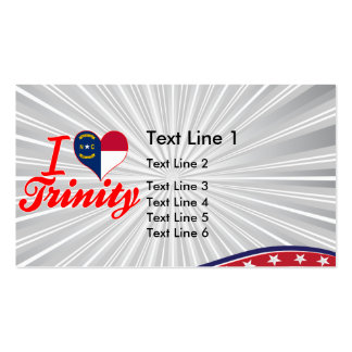 I Love Trinity, North Carolina Double-Sided Standard Business Cards (Pack Of 100)