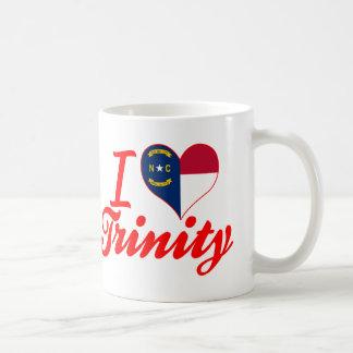 I Love Trinity, North Carolina Classic White Coffee Mug