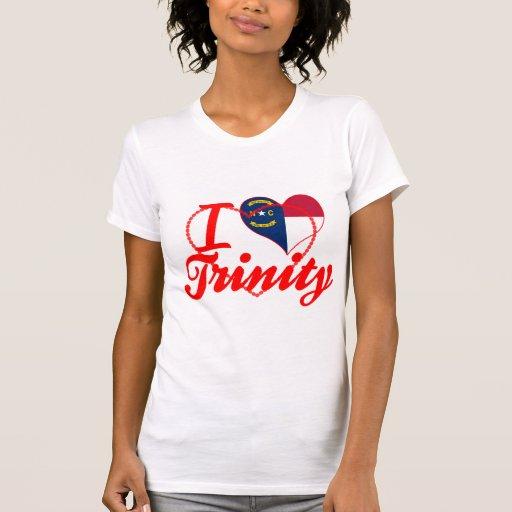 I Love Trinity, North Carolina Tee Shirts
