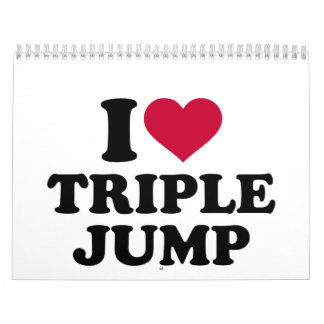 I love triple jump calendar