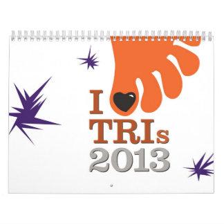 I Love Tris 2013 - Calendar for Triathletes