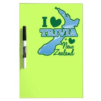 I love TRIVIA an I Love New Zealand! Dry-Erase Board