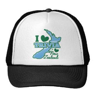 I love TRIVIA an I Love New Zealand! Trucker Hat