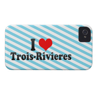 I Love Trois-Rivieres, Canada iPhone 4 Case-Mate Cases
