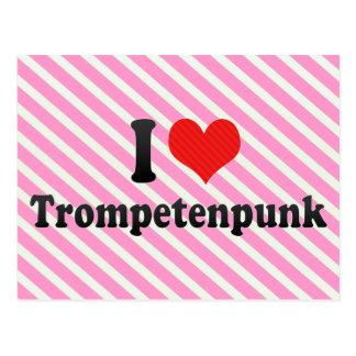 I Love Trompetenpunk Post Card