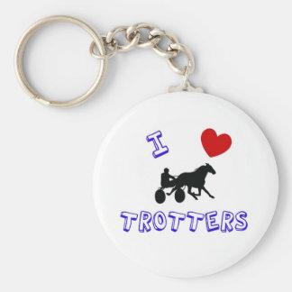 I love Trotters Keychain