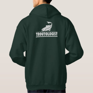 I Love Trout Fishing Hoodie
