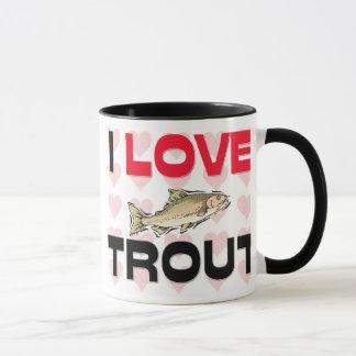 I Love Trout Mug