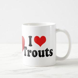 I Love Trouts Classic White Coffee Mug