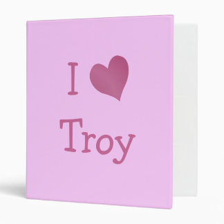 I Love Troy Binders