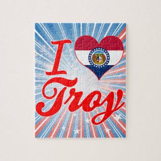 I Love Troy, Missouri Jigsaw Puzzle