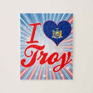 I Love Troy, New York Jigsaw Puzzles