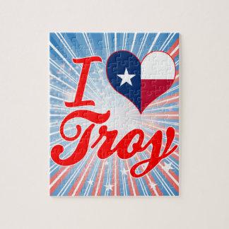 I Love Troy, Texas Jigsaw Puzzles