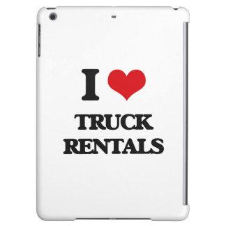 I love Truck Rentals iPad Air Covers