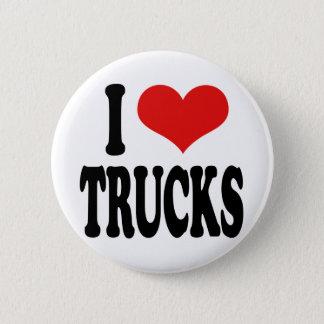 I Love Trucks Button