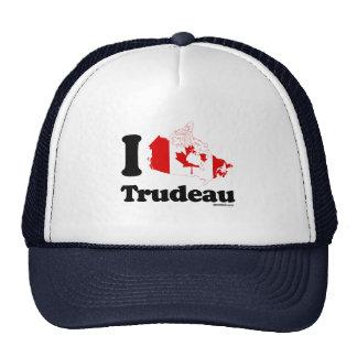 I Love Trudeau - Canadian Flag -.png Trucker Hat
