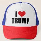 I Love Trump Trucker Cap