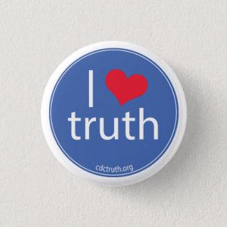 I Love Truth Pinback Button