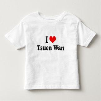I Love Tsuen Wan, Hong Kong T-shirt