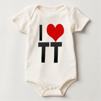 I Love TT Baby Creeper